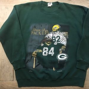 Vintage Reggie White Green Bay Packers Crew Neck